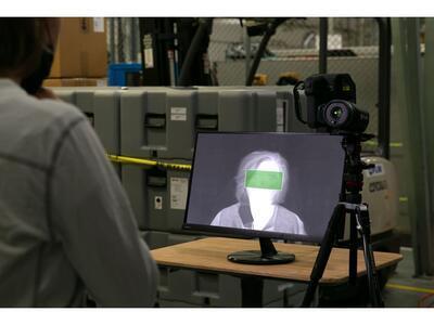 Termokamera FLIR T540-EST pro screening horečnatých stavů - 7
