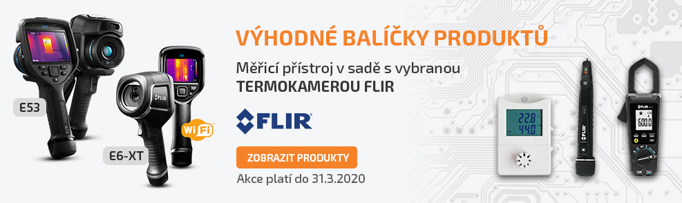 Výhodné balíčky produktů FLIR