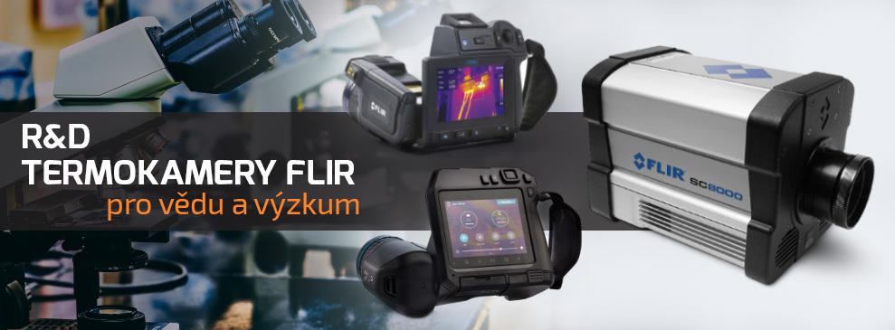 FLIR Termokamery pro vědu a výzkum